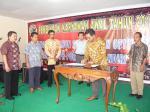 Penanda tanganan perjanjian kerjasama dengan PT. Water land